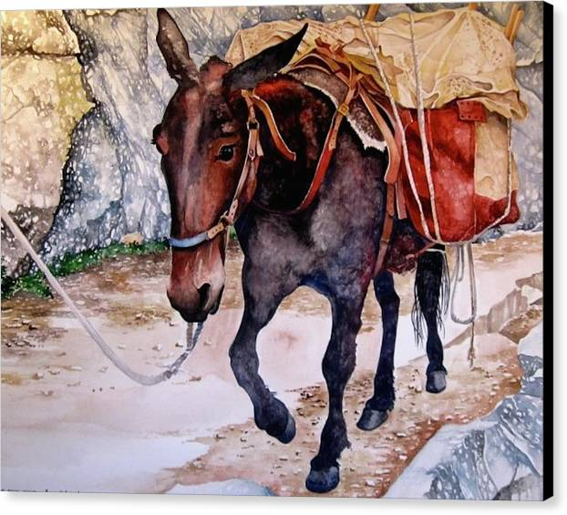 Pack Mule by Lance Wurst