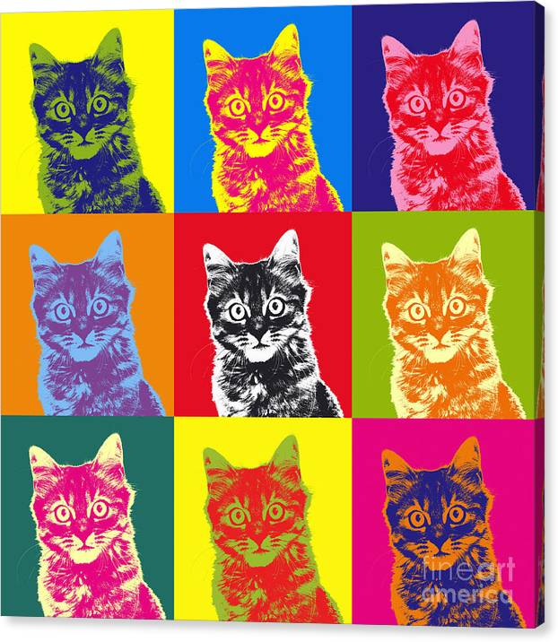 Andy Warhol Cat by Warren Photographic