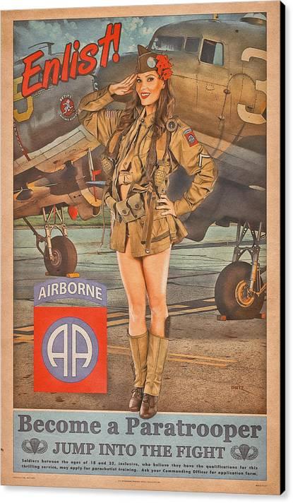 Enlist in the 82nd Airborne by Britt Dietz
