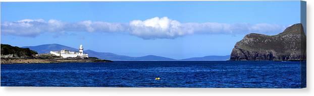 Valentia Canvas Print featuring the photograph Valentia Island Lighthouse by Mark Callanan