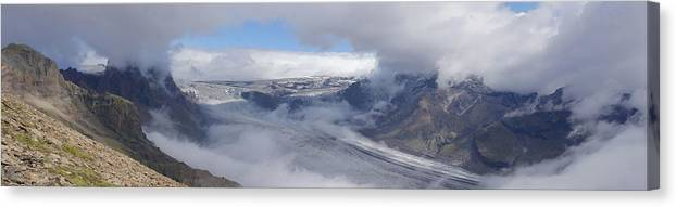 Landscape Canvas Print featuring the photograph Skaftafell Panorama by Rudi Prott
