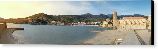 Collioure Canvas Print featuring the photograph Collioure by Robert Stein