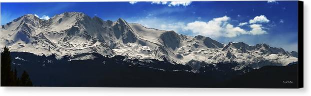 Mt. Massive Canvas Print featuring the photograph Massive View by Darryl Gallegos