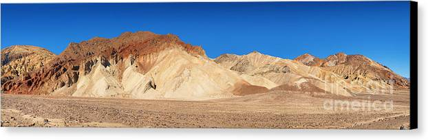 Valley Canvas Print featuring the photograph Artist' Palette Pano by Jane Rix