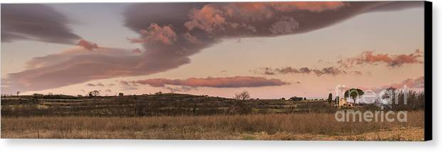 Europe Canvas Print featuring the photograph Cloudscape by Iksung N