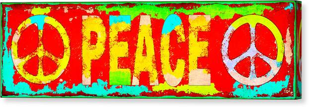 Peace Canvas Print featuring the photograph Peace by David G Paul