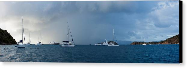 3scape Photos Canvas Print featuring the photograph Passing Storm by Adam Romanowicz