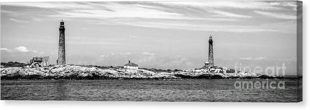 Adventure Canvas Print featuring the photograph Thacher Island by Charles Dobbs