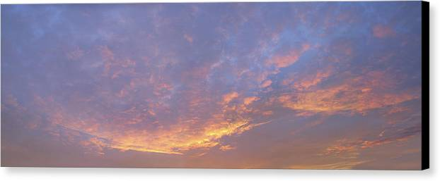 Sunrise Canvas Print featuring the photograph Sunrise by Bob Bennett