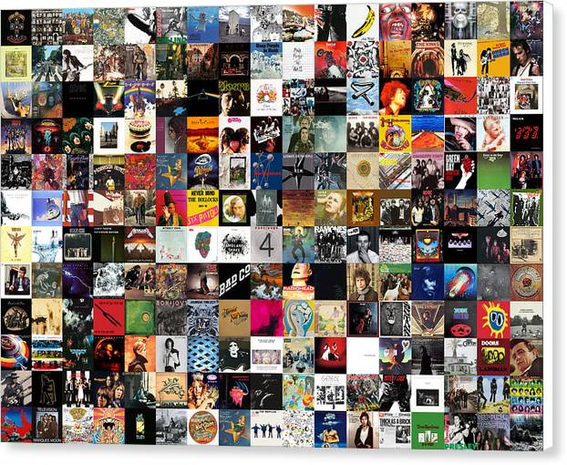 Greatest Rock Albums of All Time by Zapista OU