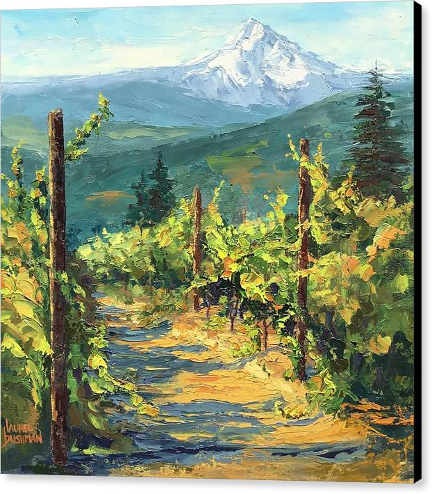 Vines With a View by Laurel Bushman