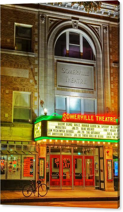 Somerville Theater in Davis Square Somerville MA by Toby McGuire