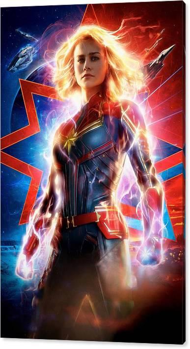 Captain Marvel  by Geek N Rock