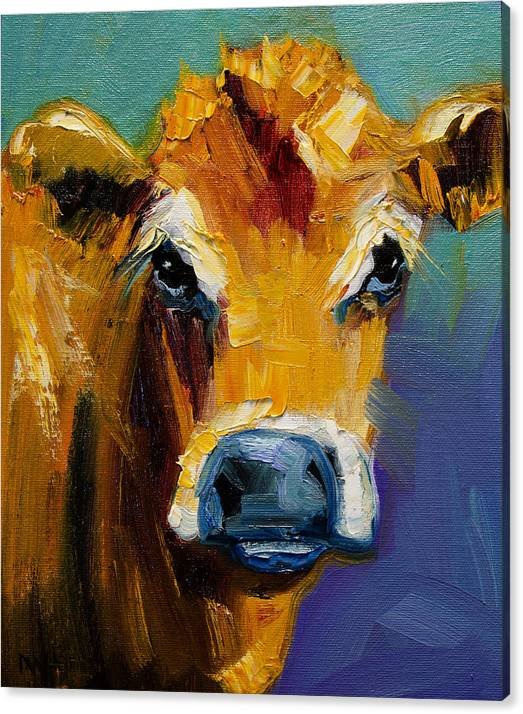 Blue Nose Cow by Diane Whitehead
