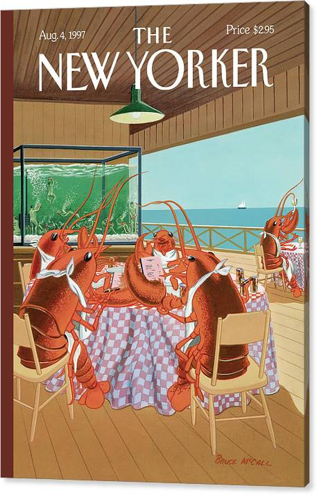 Lobsterman's Special by Bruce McCall