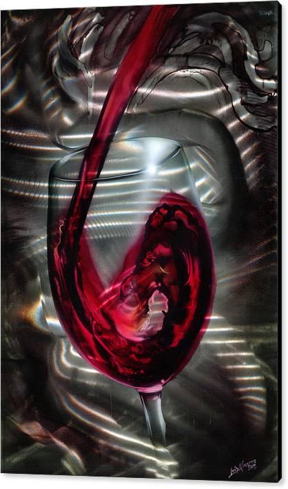 Wine Glass by Luis  Navarro