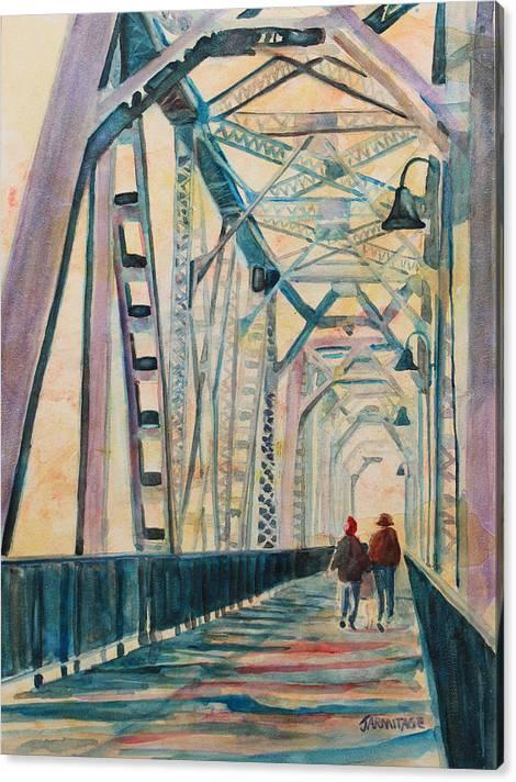 Foggy Morning on the Railway Bridge III by Jenny Armitage