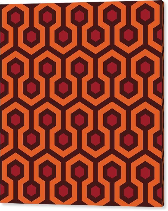 Overlook Hotel Carpet by Retro Pops