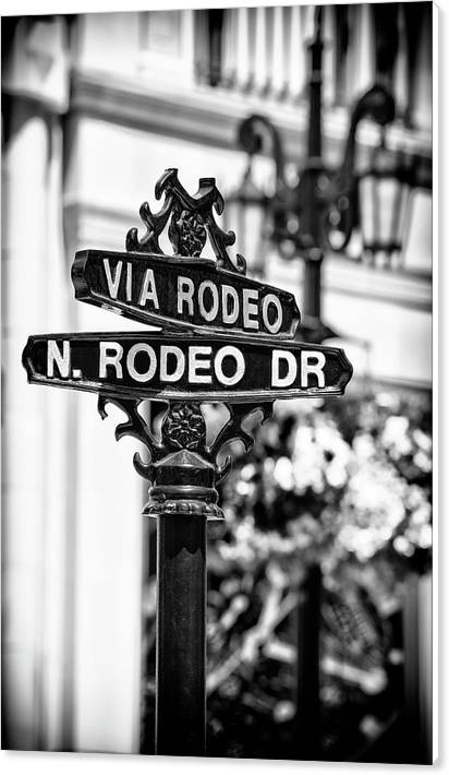 Black California Series - Beverly Hills Rodeo Drive by Philippe HUGONNARD