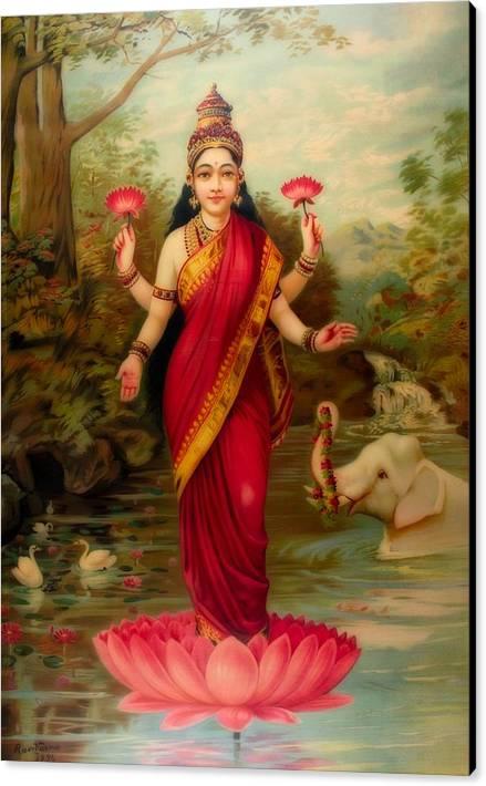 Lakshmi, Goddess Of Fortune, Wealth, Prosperity by Mountain Dreams