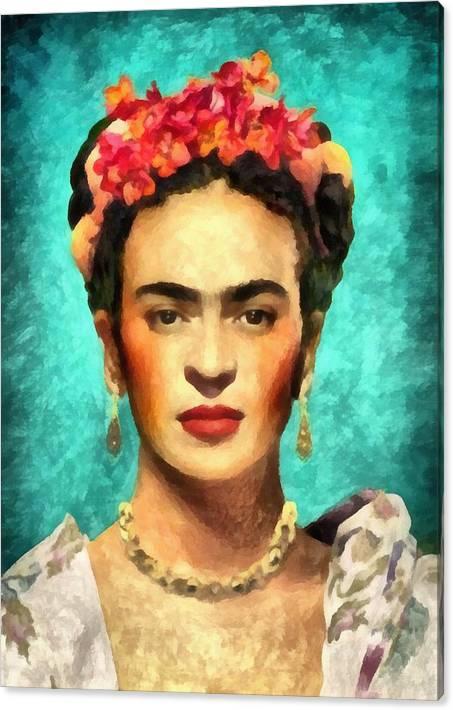 Frida Kahlo by Samantha Buxton