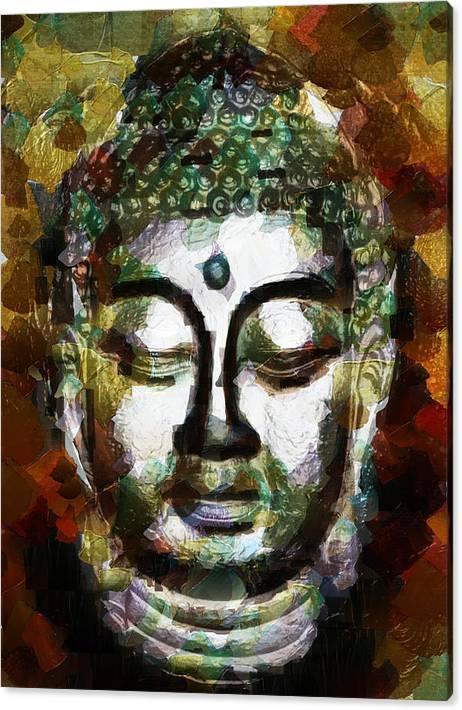 Limited Time Promotion: Renunciation And Ascetic Life Stretched Canvas Print