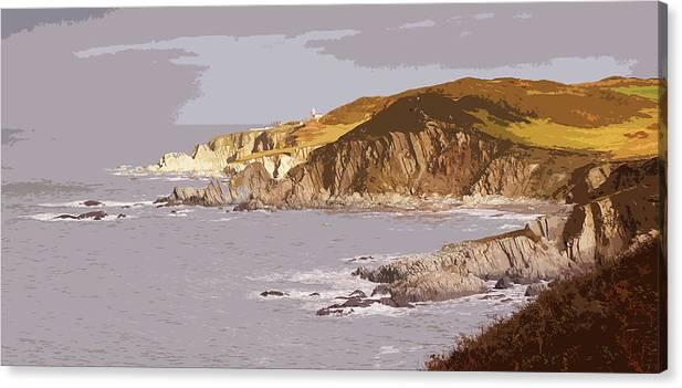 Bull Point Lighthouse Mortehoe by Mark Woollacott