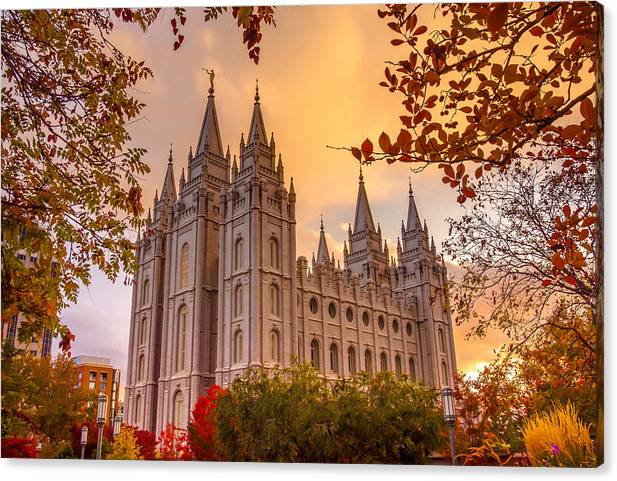 Salt Lake City Temple by Emily Dickey