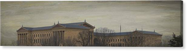 Philadelphia Canvas Print featuring the photograph Philadelphia Art Museum by Trish Tritz