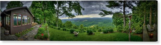 Pennsylvania Canvas Print featuring the photograph Pennsylvania Overlook by Williams-Cairns Photography LLC