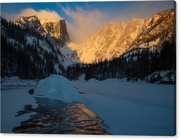 Sunrise on Dream Lake by Brian Lynch