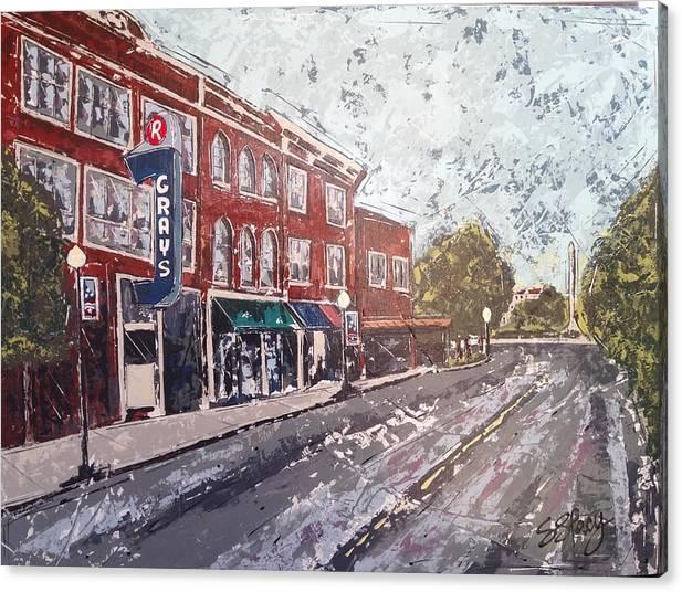Sunny Day on Main Street by Shari Lacy