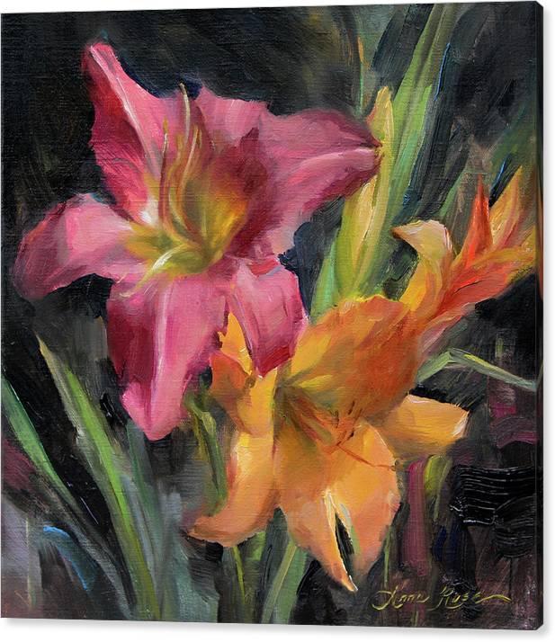 Day Lilies by Anna Bain
