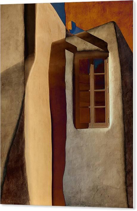 Window de Santa Fe by Carol Leigh
