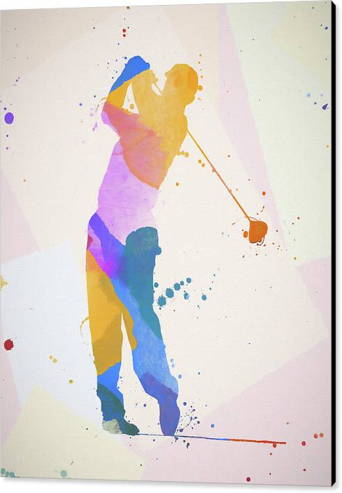 The Golfer by Dan Sproul