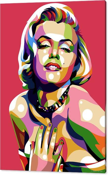 Marilyn Monroe by Stars on Art