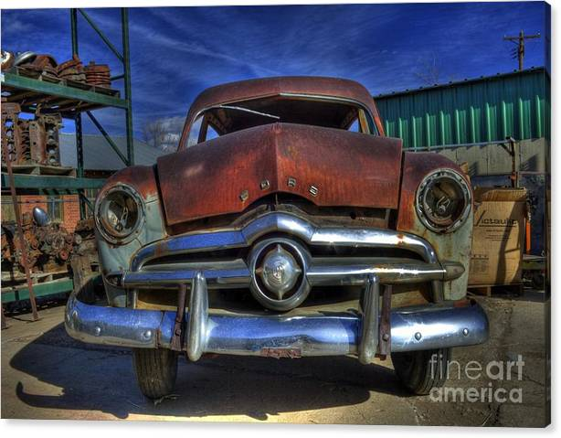 Limited Time Promotion: An Oldie Stretched Canvas Print