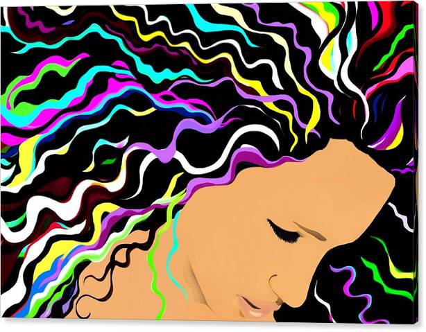 Limited Time Promotion: Jessica Stretched Canvas Print