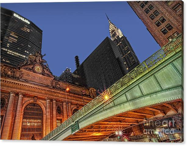 Limited Time Promotion: Pershing Square Stretched Canvas Print