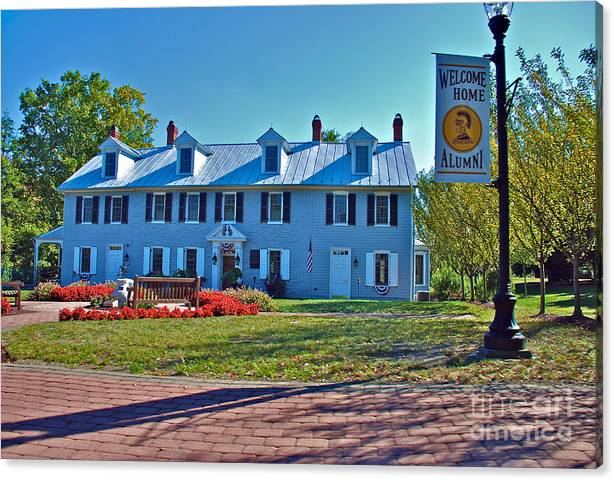 Limited Time Promotion: Homestead Stretched Canvas Print