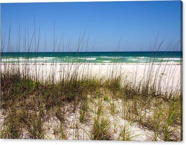 Limited Time Promotion: Pensacola Beach 1 - Pensacola Florida Stretched Canvas Print