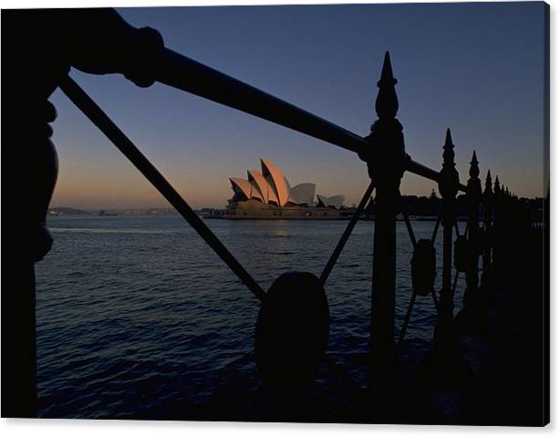 Limited Time Promotion: Sydney Opera House Stretched Canvas Print