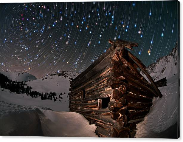 Limited Time Promotion: Wonders Of The Night Stretched Canvas Print