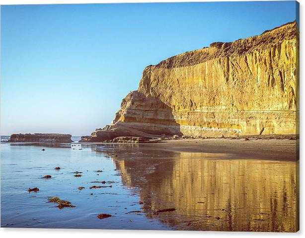 The Wall At Torrey Pines by Joseph S Giacalone