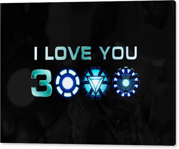 I Love You 3000 Blue by ABConcepts