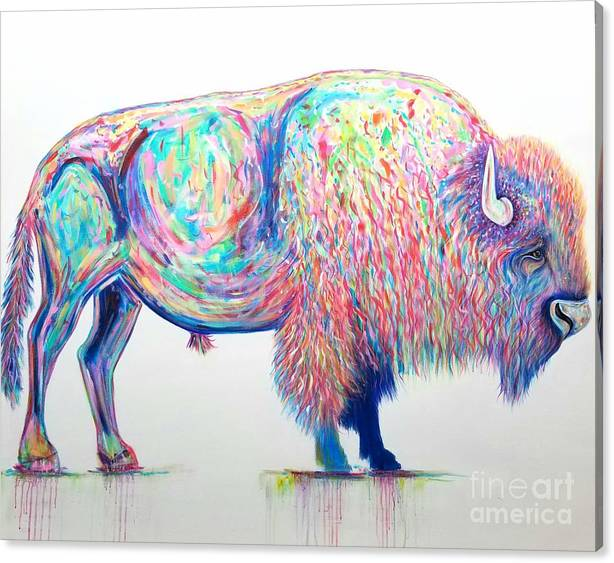 Loneliest Bison by Talitha Jacobs