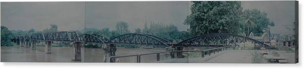 Bridge Canvas Print featuring the photograph The Bridge On The River Kwai by Rob Hans