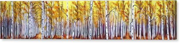 Fall Canvas Print featuring the painting Welcome by Tammy Watt