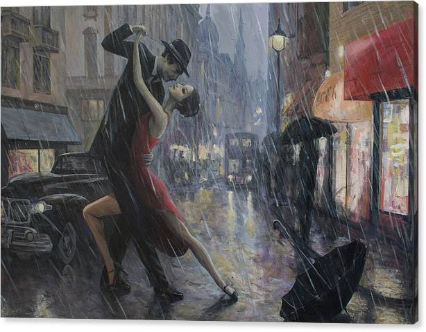 Life is a Dance in The Rain by Adrian Borda