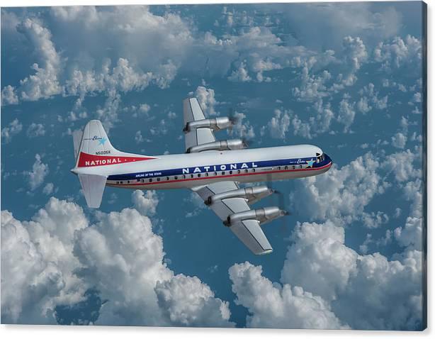 National Airlines Lockheed Electra by Erik Simonsen